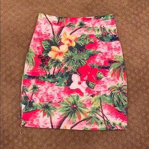 Hawaiian skirt